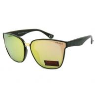 Okulary przeciwsłoneczne damskie POLARYZACJA UV, czarno-żółte