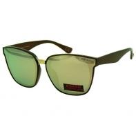Okulary przeciwsłoneczne damskie POLARYZACJA UV, brązowo-beżowe