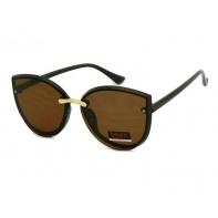 Okulary przeciwsłoneczne damskie UV 400, BRĄZOWE