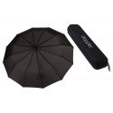 Bardzo mocna automatyczna parasolka męska Doppler w ETUI CZARNA