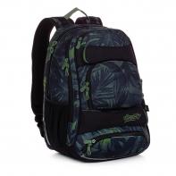 Dwukomorowy plecak młodzieżowy Topgal YUMI 20037 LIŚCIE