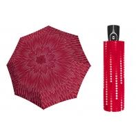 Mocna damska automatyczna parasolka Doppler UV SPF 50, czerwona