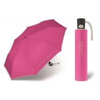 Automatyczna parasolka Benetton, różowo-szara