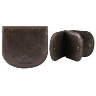 """Mały portfel skórzany """"podkówka"""" Wittchen, kolekcja: Italy, brązowy"""