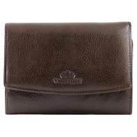 Skórzany damski portfel/portmonetka Wittchen, kolekcja Italy, brązowy