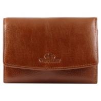 Skórzany portfel/portmonetka Wittchen, kolekcja Italy, jasny brąz