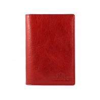 Etui na paszport Wittchen ITALY, czerwone