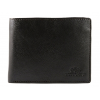 Klasyczny portfel męski RFID SKÓRZANY Wittchen Florence BRĄZOWY