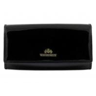 Długi portfel damski Wittchen SKÓRZANY, kolekcja Verona CZARNY