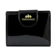 Portfel damski portmonetka Wittchen kolekcja Verona CZARNY