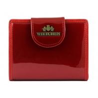 Portfel damski portmonetka Wittchen kolekcja Verona CZERWONY