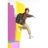 Świecący plecak szkolny CoolPack LED Joy M 23 L COMICS + ładowarka