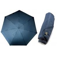 Ultra lekka mini parasolka damska 18 cm, granatowa