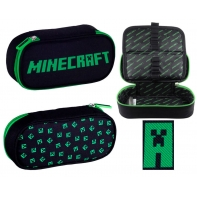 Piórnik szkolny saszetka Astra Minecraft Creeper
