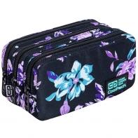 Piórnik szkolny trzykomorowy Coolpack Primus Violet Dream