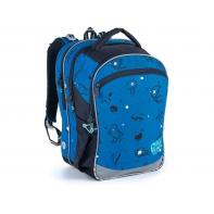 Plecak trzykomorowy dla chłopca Topogal COCO 21017 B