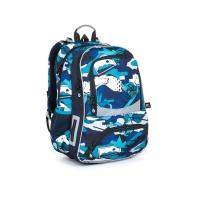 Dwukomorowy plecak szkolny Topgal NIKI 21022