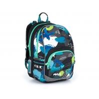 Dwukomorowy plecak dla chłopca Topgal KIMI 21021