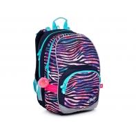 Dwukomorowy plecak Topgal KIMI 21010