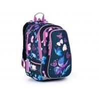 Trzykomorowy plecak dla dziewczynki Topgal LYNN 21007