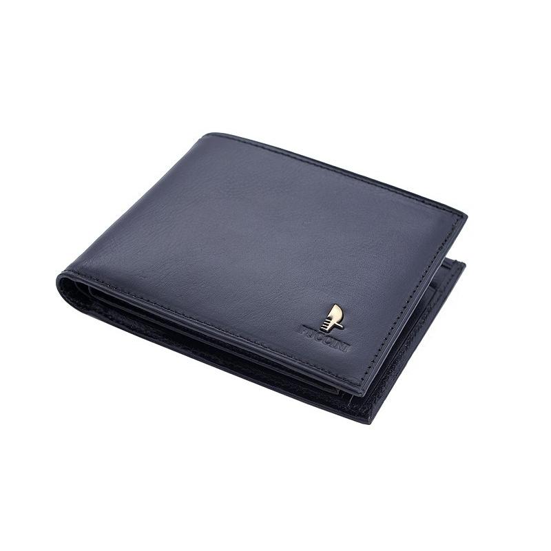 6f8127b290d2d Męski portfel Puccini P1697 w kolorze czarnym z wyjmowaną wkładką na karty
