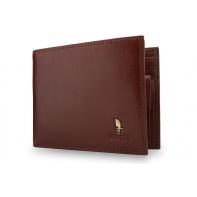 Męski portfel Puccini P1694 w kolorze brązowym