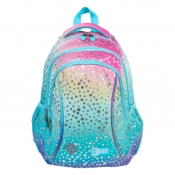 Dwukomorowy plecak szkolny St.Right 19L, OMBRE MERMAID/SYRENKA BP26