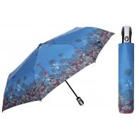 Automatyczna parasolka damska marki Parasol, błękitna