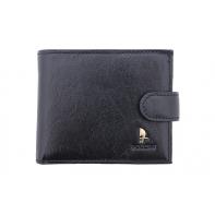 Nieduży portfel Puccini P1953 w kolorze czarnym
