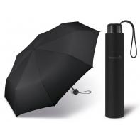 Czarny parasol Happy Rain Essentials Super-Mini 42067