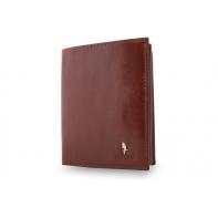 Skórzany portfel Puccini P1907 w kolorze brązowym