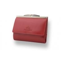 Stylowa portmonetka marki Wittchen 21-1-059, kolekcja Italy, kolor czerwony