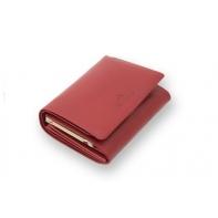 Czerwony portfel damski marki Wittchen 21-1-070, kolekcja Italy