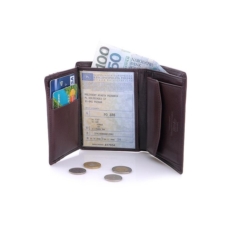 42e56226e6f60 Nieduży portfel męski Wittchen 21-1-023