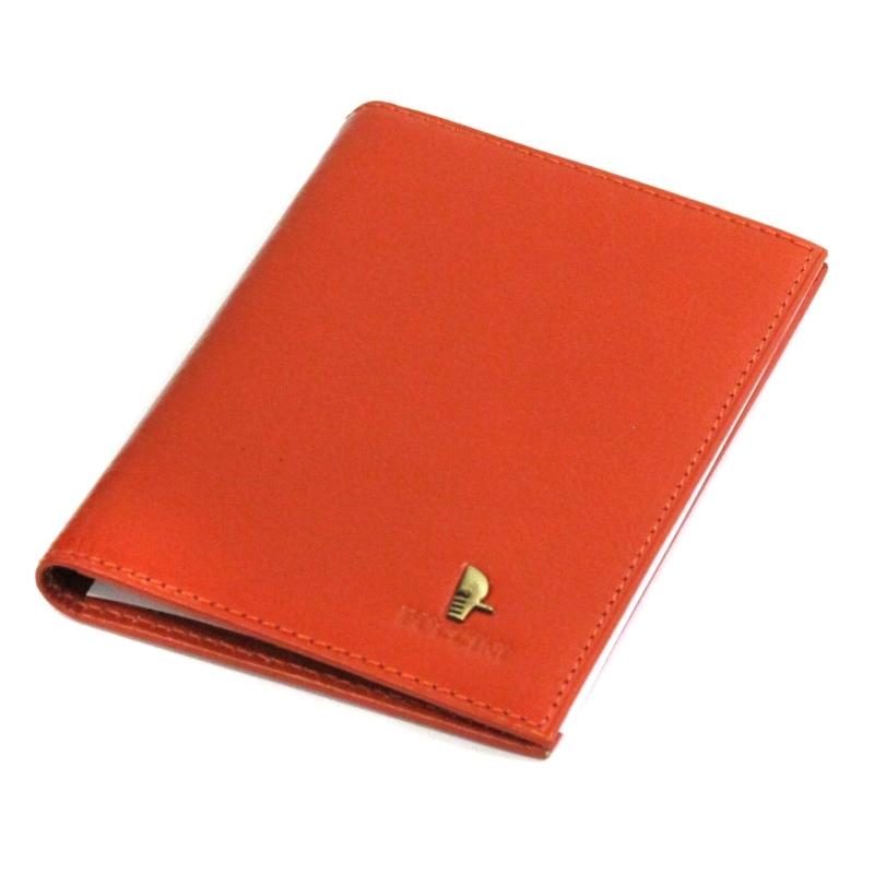 8f80ca5a0e4f4 Etui na dokumenty Puccini P-1595 w kolorze pomarańczowym