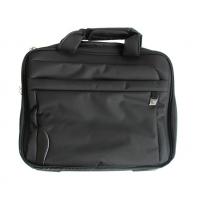 Czarna torba na laptopa QM80774 Puccini, lekka, na ramie