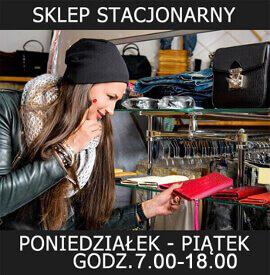 Sklep stacjonarny z portfelami w Warszawie